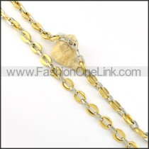 Delicate Golden Plated Necklace    n000220