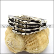 Stainless Steel Claw Ring     r003193