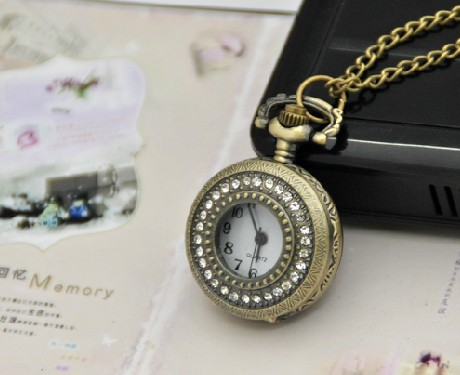Vintage Pocket Watch Chain PW000250