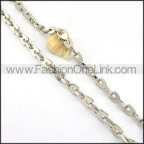 Silver Plated Necklace      n000254