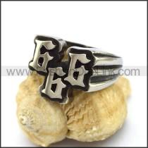 Stainless Steel Biker Ring  r003279