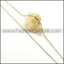 Delicate Plated Necklace    n000363