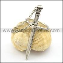 Stainless Steel Sword Ring r002091