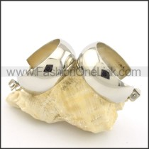 Classic Stainless Steel Plating Earrings     e000737