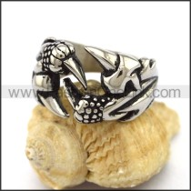 Delicate Stainless Steel Casting Ring  r003189