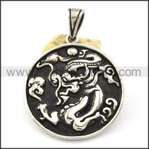 Exquisite Stainless Steel Casting  Pendant  p001147