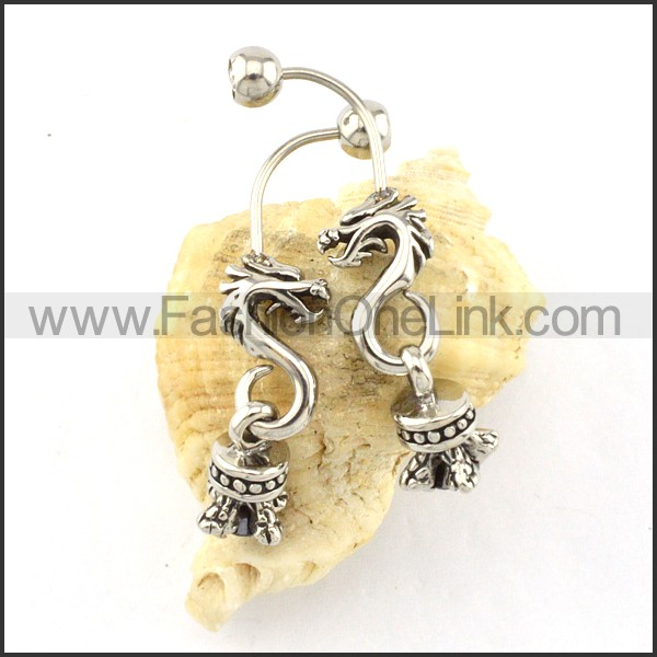 Lovely Stainless Steel Animal Earrings    e000411