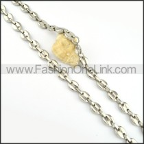 Good Quality Silver Plated Necklace      n000189