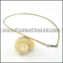 Twisted Rope Fashion Necklace   n000231
