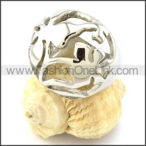 Stainless Steel Good Craft Casting Ring  r000949