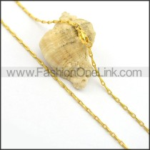 Delicate Golden Plated Necklace n000696