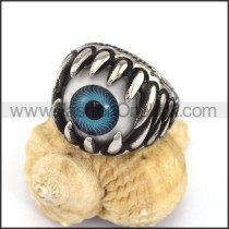 Exquisite Stainless Steel Eye Ring  r002873