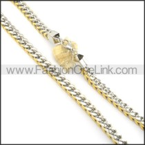 Succinct Plated Necklace   n000520