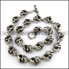 Wicked Skull Necklace n001234
