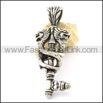 Exquisite Stainless Steel Casting  Pendant  p001151
