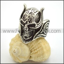 Exquisite Skull Stainless Steel Ring  r001702