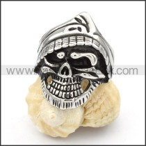 Stainless Steel Special Design Skull Ring r000418