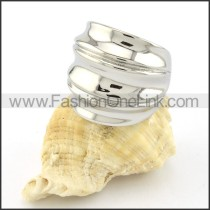 Stainless Steel Unique Design Ring r000607