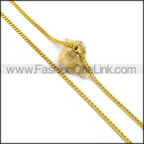 Hot Selling Gold Plated Necklace n001046