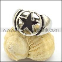 Pentacle Stainless Steel Ring r001919