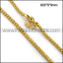 Golden Plated Necklace n001094