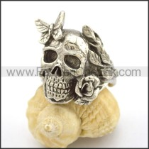 Unique Stainless Steel Skull Ring  r002712