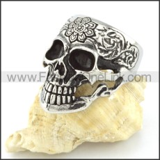 Stainless Steel Punk Style  Biker Ring r000547