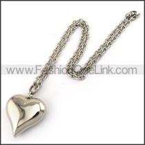 Decorous Heart Fashion Necklace n001202