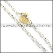 Delicate Silver Plated Necklace       n000542