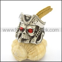 Unique Stainless Steel Skull Ring   r002801