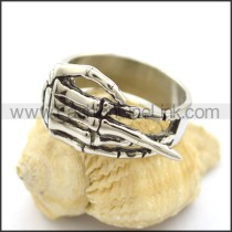 Stainless Steel Claw Ring r001800