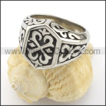 Exquisiter Stainless Steel Ring  r001478