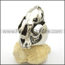 Unique Stainless Steel Casting  Ring   r002434