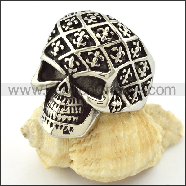 Hot Selling Stainless Steel Skull Ring r001048