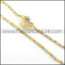 Chic Stainless Steel Fashion Necklace n000526