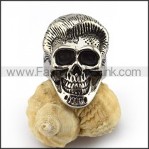 Stainless Steel Skull Ring   r003514