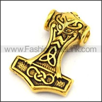 Delicate Stainless Steel Plating Pendant  p003067