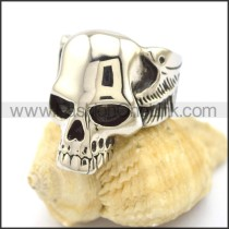 Exquisite Stainless Steel Skull Ring   r002202
