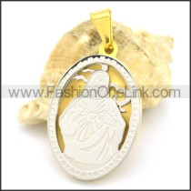 Delicate Stainless Steel Casting Pendant   p002388
