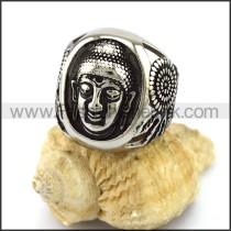 Buddha Stainless Steel Ring   r002907