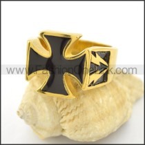 Dlicate Cross Ring r001576