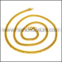 High Quality Golden Plated Necklace n001194