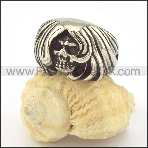 Unique Design Popular Skull Ring r001356
