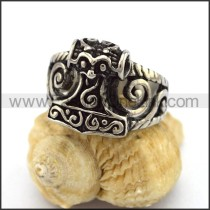 Delicate Stainless Steel Casting Ring r003169