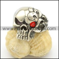 Unique Stainless Steel Skull Ring   r002504