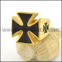 Dlicate Cross Ring r001577