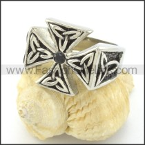 Exquisite Stainless Steel Ring r001497