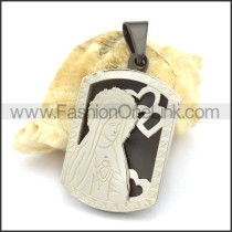 Delicate Stainless Steel Casting  Pendant   p002392