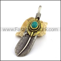 Delicate Stainless Steel Casting Pendant   p003040