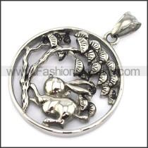 Exquisite Stainless Steel Casting Pendant    p003212